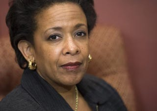 Loretta Lynch, nominee for U.S. attorney general, in 2014SAUL LOEB/AFP/Getty Images