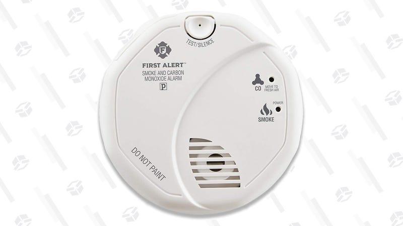 First Alert Smoke and Carbon Monoxide Detector   $23   Amazon