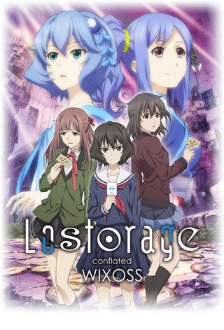 Illustration for article titled Lostorage Conflated WIXOSS will premier on Spring 2018