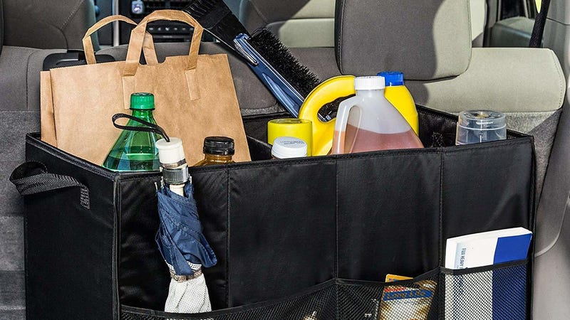 Honey-Can-Do Folding Car Trunk Organizer   $10   Amazon