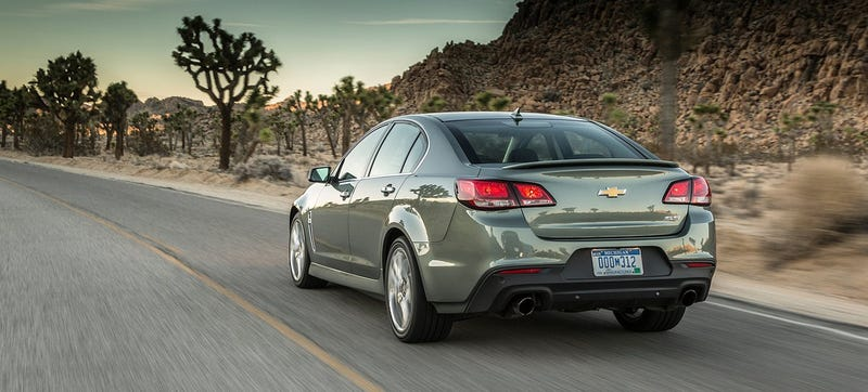 Illustration for article titled Chevrolet SS Could Get 1LE Handling Package For No One To Buy