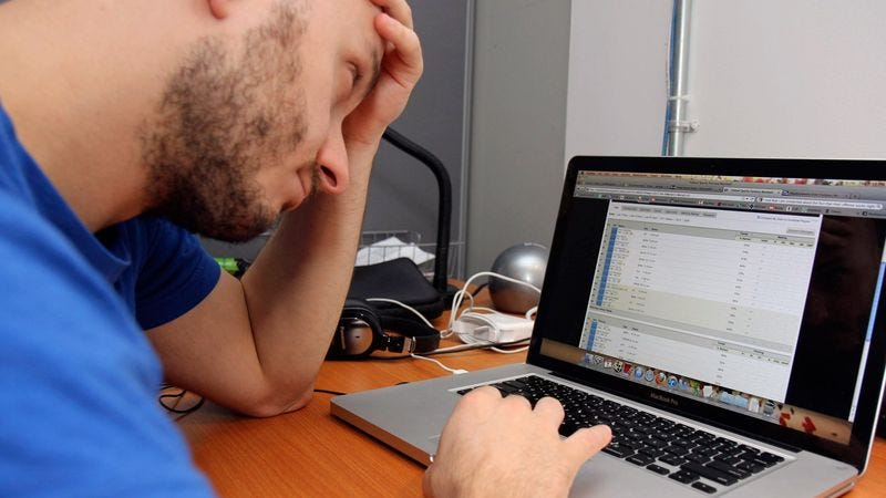 Illustration for article titled Area Man Already Tired Of Adjusting His Fantasy Baseball Roster