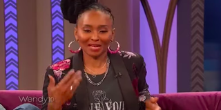 Dee Barnes appearing on Wendy April 18, 2019