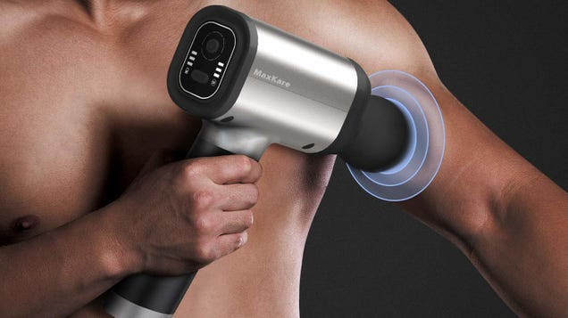 Flex Your Muscles at the Gym, Then Soothe Them With This Discounted Massage Gun