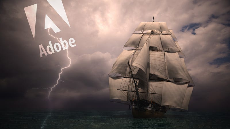 Illustration for article titled Will Adobe's Move to the Cloud Finally Keep the Pirates at Bay?
