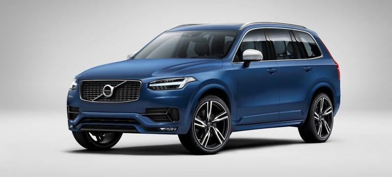 Illustration for article titled The XC90 R-Design Is Your Sporty Volvo SUV
