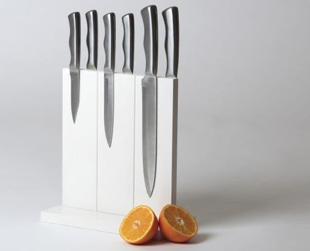 Magnetic Knife Holder Kitchen There39s Nothing Fancier Than Strip Cling  Knives  Magnetic Knife Holder Kitchen. There39s Better Way