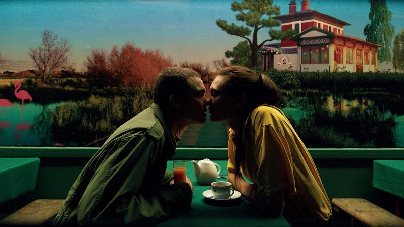 Illustration for article titled Love is another visually striking trip up director Gaspar Noé's ass