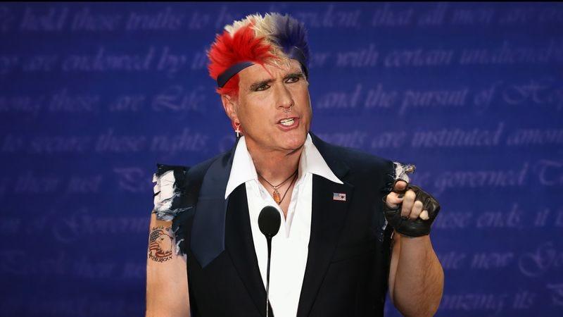 Mitt Romney's new debate persona 'Ronnie Ferocious.'