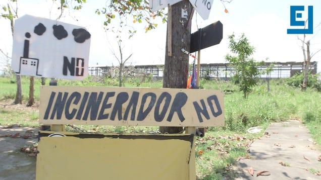 Puerto Rican City Tells Trash-Burning Power Plant to Fuck Off