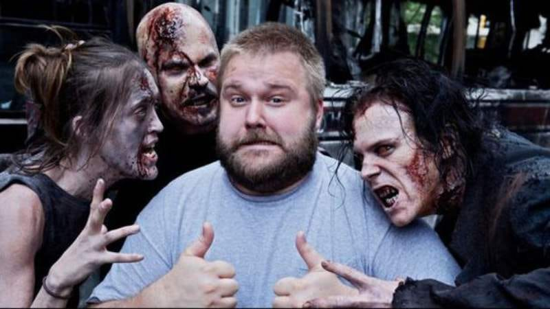 """Illustration for article titled Robert Kirkman knows """"the end point"""" of the Walking Dead TV show"""