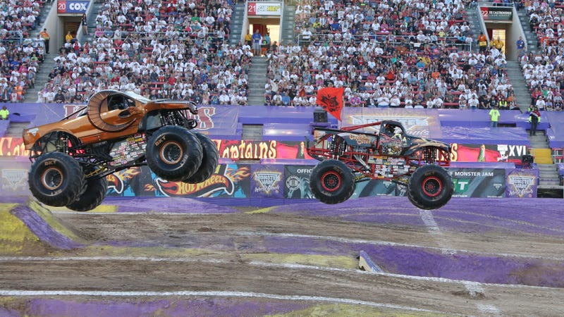 Illustration for article titled Song Named After The World's First Ever Monster Truck Front Flip Does Not Sound Like The World's First Ever Monster Truck Front Flip
