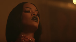 "Rihanna in ""Work""YouTube screenshot"
