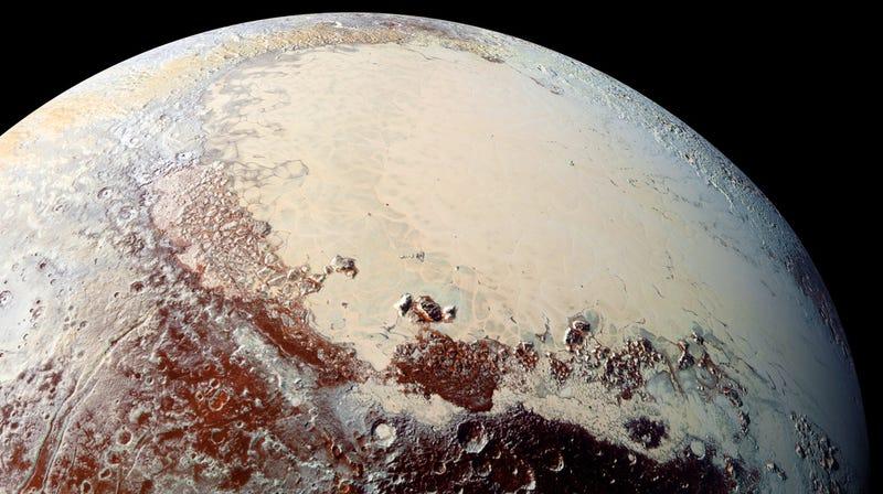 Illustration for article titled 9 hechos fascinantes que hemos aprendido sobre Plutón gracias a New Horizons