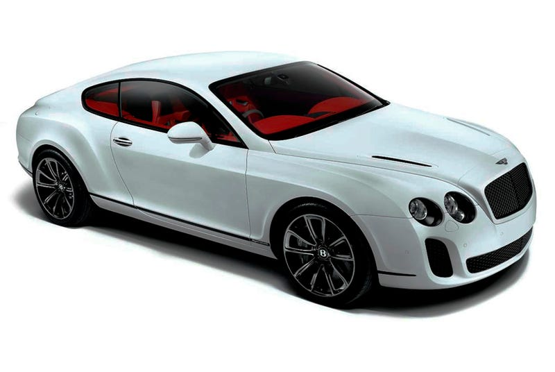 Illustration for article titled Bentley Continental Supersports: 204 MPH Green Machine