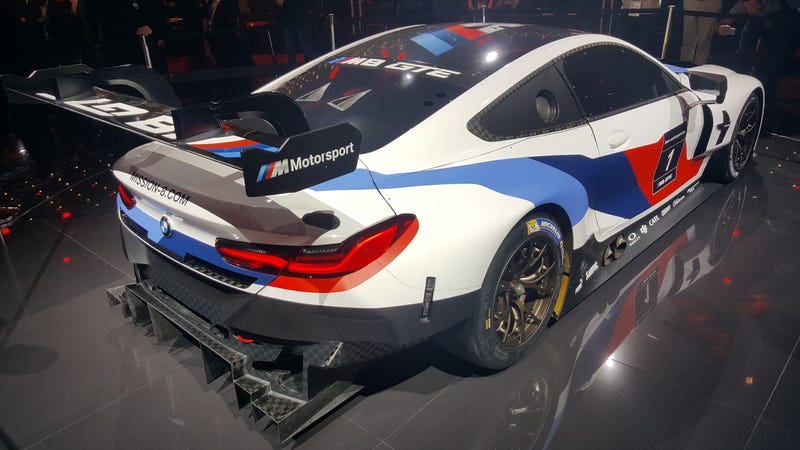 BMW reveals M8 GTE race auto