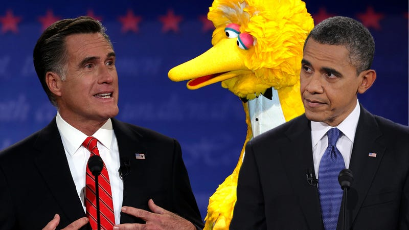 Illustration for article titled Mitt Romney's Cokeface, and Other Interesting Moments From Last Night's Boring Ass Debate