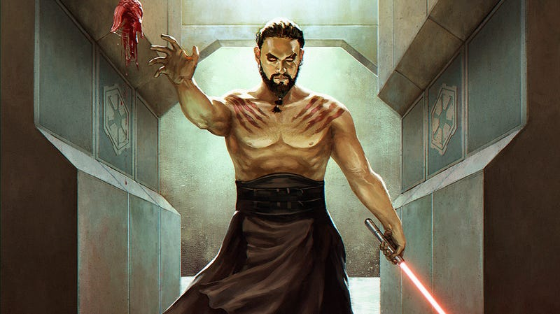 Illustration for article titled The Star Wars/Game of Thrones crossover you NEED: Darth Drogo!