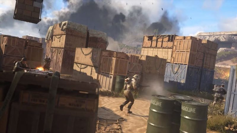 Illustration for article titled Call of Duty: WWII's Tiny New Map Makes Killing Faster