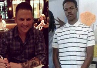 Former St. Louis Police Officer Jason Flanery; VonDerrit Myers Jr.Twitter