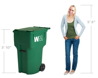 Illustration for article titled What do y'all wanna know about the 2019 Waste Management bin?