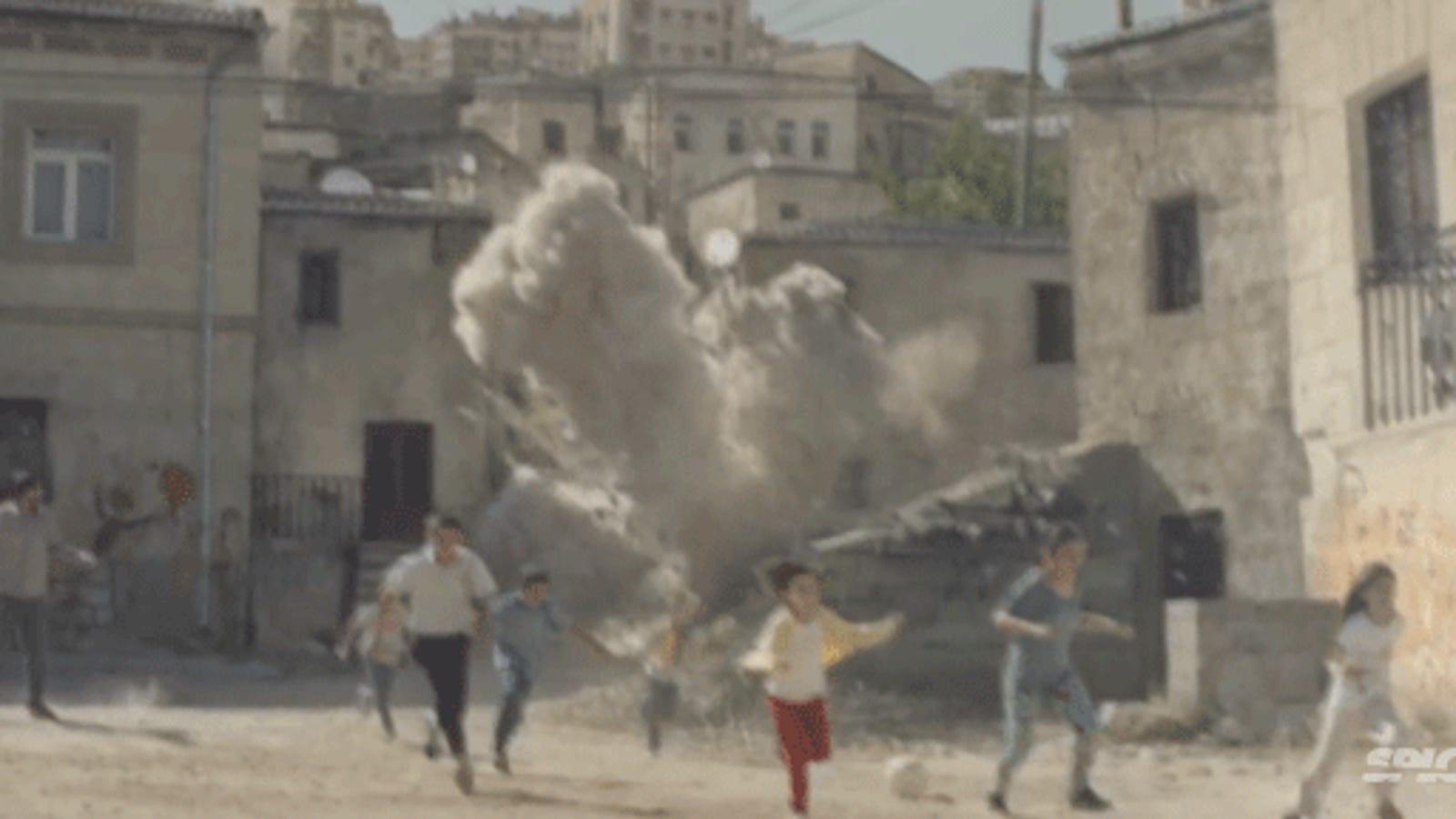 Ojalá este brutal vídeo sobre Siria fuera posible