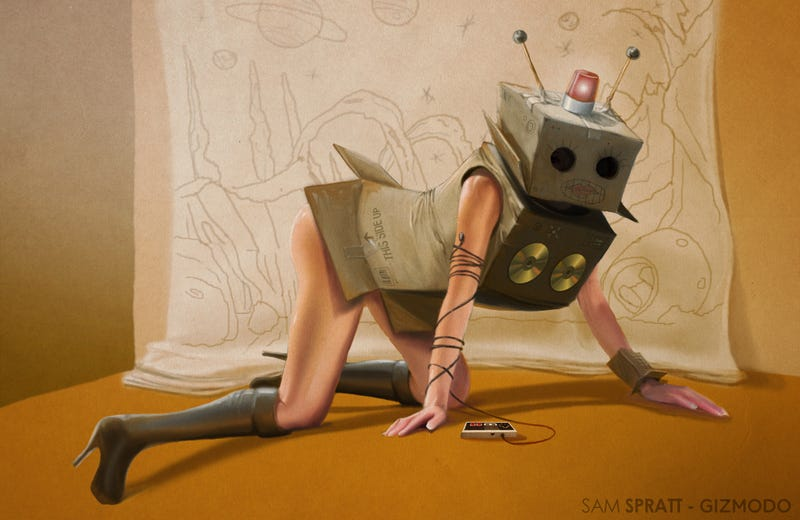 Illustration for article titled Gizmodo's Sexy Robot Costume Contest!