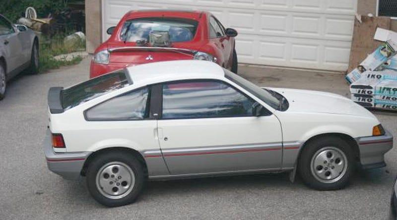 Illustration for article titled For $2,550 Canadian, This 1984 Honda CRX HF Says Say Hello To My Little Friend, Ehh