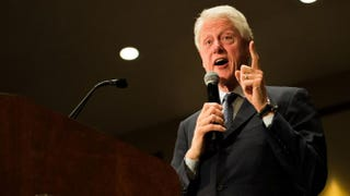 Former President Bill ClintonMICHAEL B. THOMAS/AFP/Getty Images