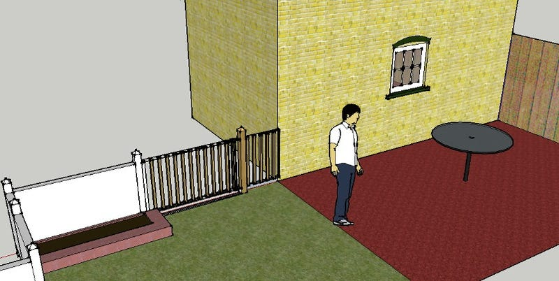 Model your house sketchup
