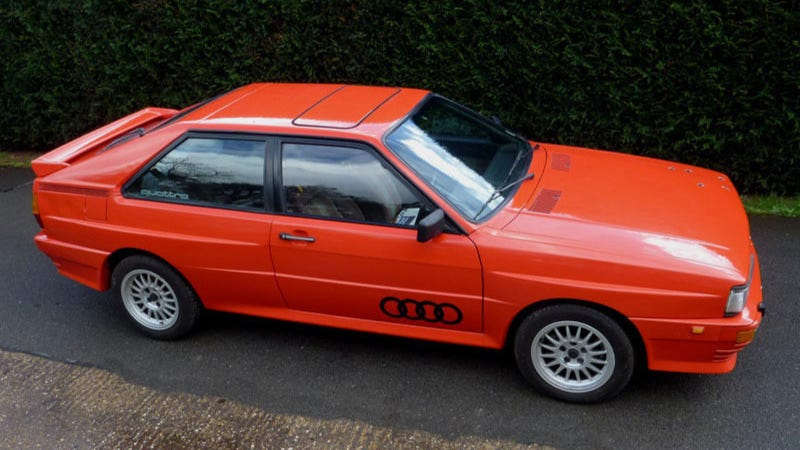 Illustration for article titled Now You Can Own Gene Hunt's Audi Quattro From Ashes To Ashes