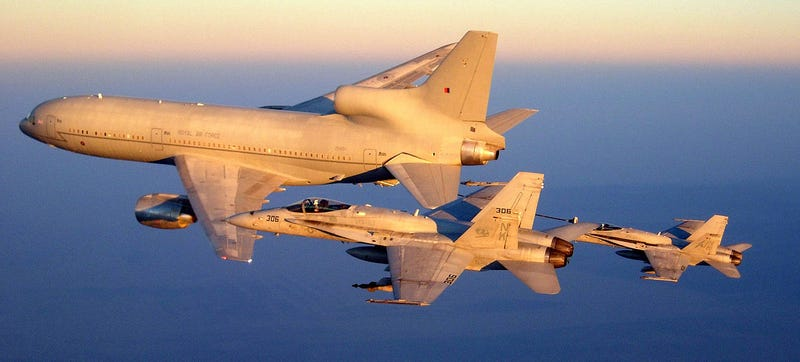 Illustration for article titled You Can Buy This Ex-Royal Air Force TriStar Tanker For $1.75M