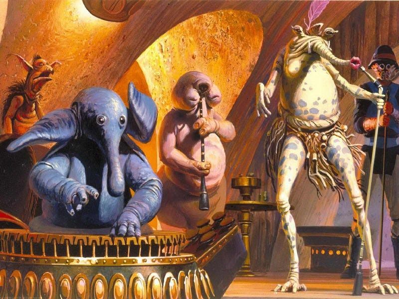 Illustration for article titled Why won't the Return of the Jedi Blu-ray include Jabba the Hutt's favorite disco song?