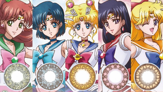 Illustration for article titled Sailor Moon Contact Lenses Let You Apply Anime DIRECTLY TO YOUR EYES