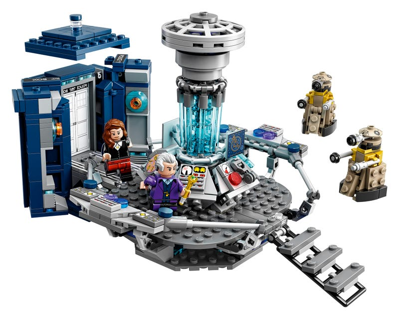 Illustration for article titled Lego Doctor Who Is Finally Here, And It Looks Awesome