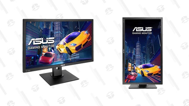 Swivel, Pivot, and Tilt This Asus 27  Monitor as Much as You Want for 19% Off