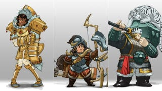Illustration for article titled Let's Have More Lady Knight Designs Like These!