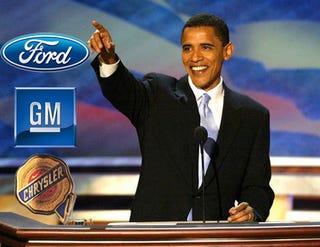 Illustration for article titled Obama Endorses $4 Billion Automaker Aid Package