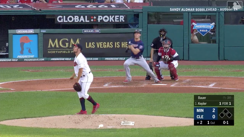 Trevor Bauer Knows He Could Just Not Pitch To Max Kepler, Right?