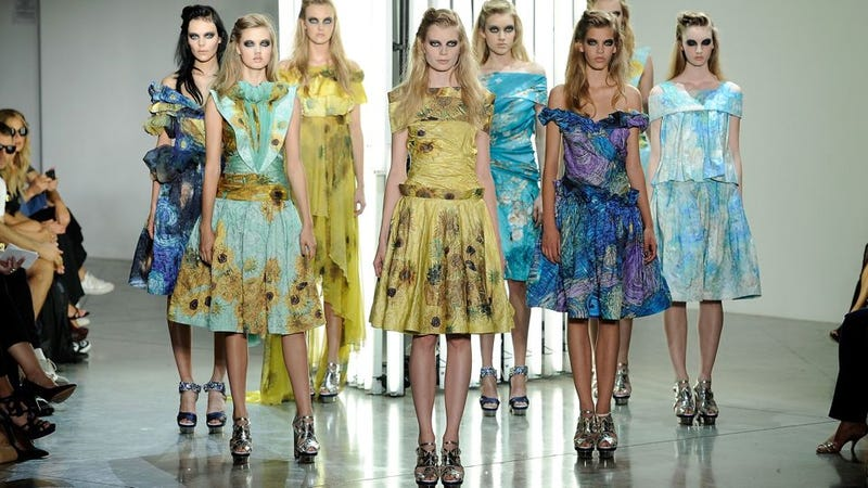 Illustration for article titled Rodarte Gives The World A Vincent Van Gogh-Inspired Collection