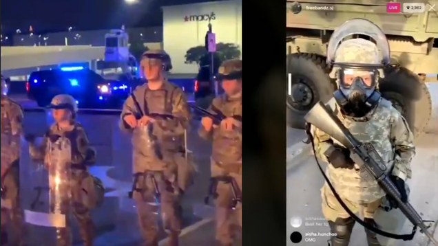 National Guard Says No  Child Soldiers  Were Deployed to Control Protests