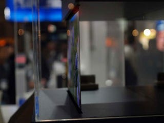 Illustration for article titled Sony Shows Off 0.3mm-Thick OLED Display; Doesn't Get Much Thinner Than That
