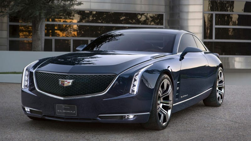 Illustration for article titled Cadillac's Elmiraj Concept Is The Flagship Coupe Of Your Dreams