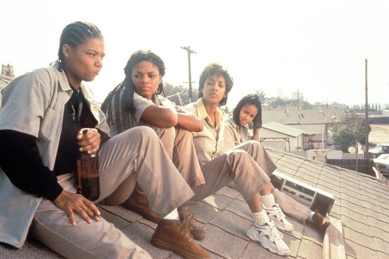 Queen Latifah, Kimberly Elise, Viviva A. Fox and Jada Pinkett Smith in Set It OffIMDb