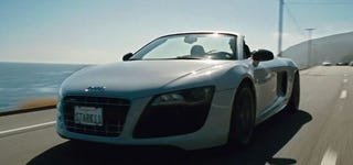 Illustration for article titled New Iron Man 2 Trailer Features Audi R8 V10 Spyder, More Scarlett