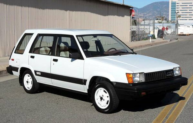 Illustration for article titled For $9,995, This 1983 Toyota Tercel 4X4 SR5 Is Pretty Fly For A White Car