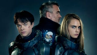 Illustration for article titled Luc Besson Shares the First Image From His Time-Traveling Space Epic Valerian