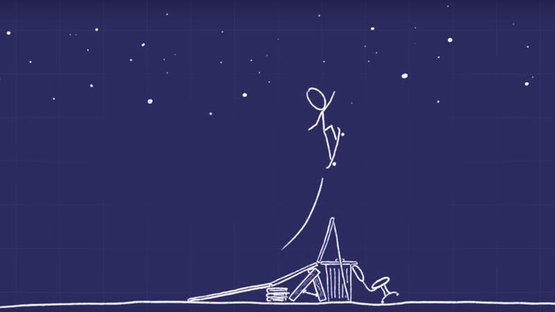 "Illustration for article titled Minute Physics teamed up with xkcd to make this great ""How To Go To Space"" video"
