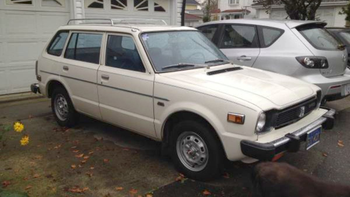 How About This Survivor 1978 Honda Civic Wagon For 6500 Canadian 1970 Cvcc