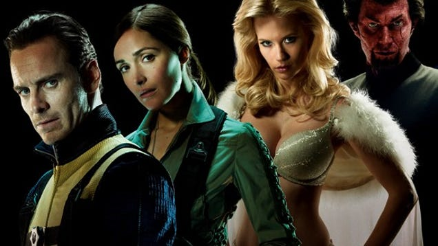 High res shots of the X-Men: First Class cast have us ...  High res shots ...